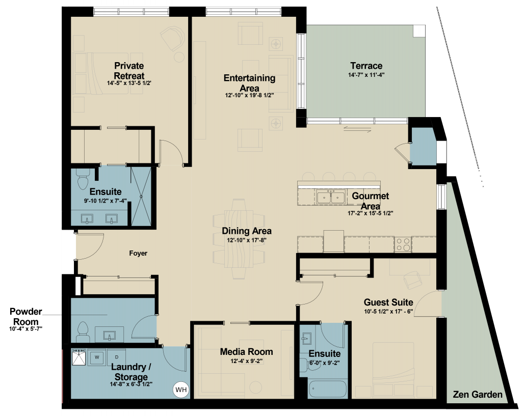 Suite 101 floor plan